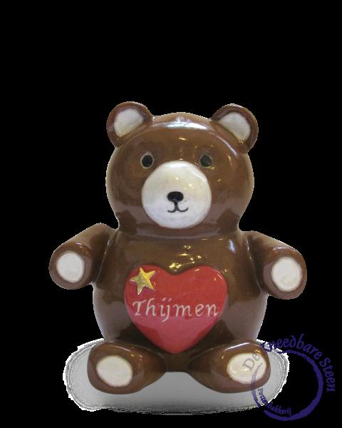 Baby urn beer voor Thijmen