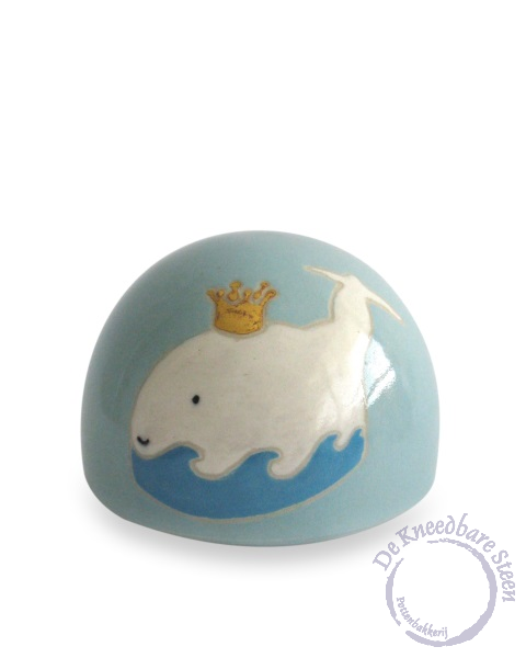 Baby urn met dolfijn