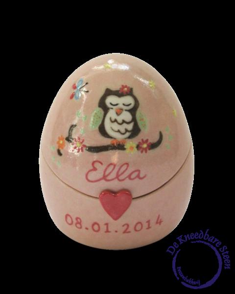 Baby urn voor Ella