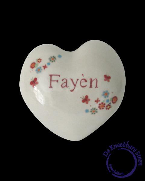 Baby urn voor Fayèn