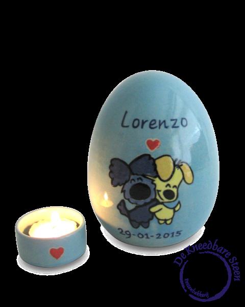 Baby urn voor Lorenzo