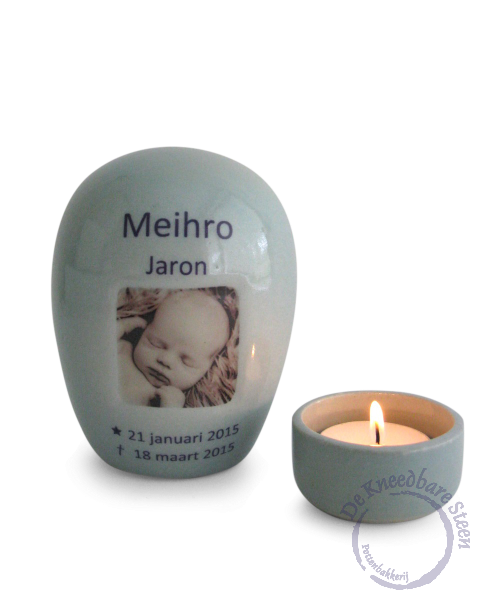 Baby urn voor Meihro