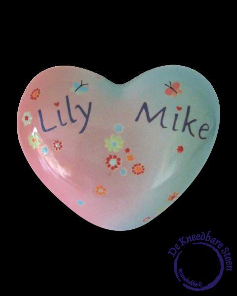 Kinder urn voor Lily en Mike