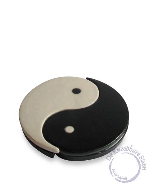 Mini urn Yin Yang (2 losse delen)