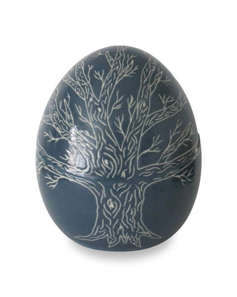 Mini urn met boom