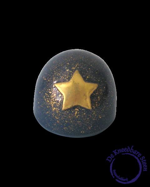Mini urn met gouden ster