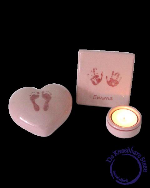 Baby urn voor Emma