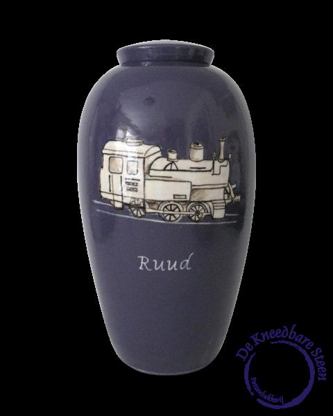 Urn met Locomotief
