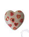 baby urn hart met hartjes