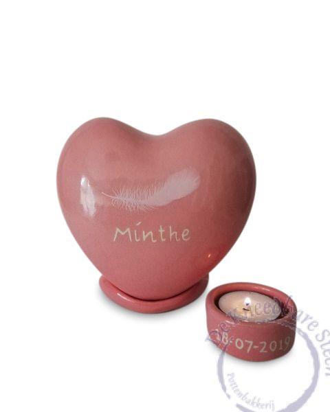 Hart urntje voor Mirthe