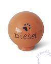 Honden urn voor Diesel