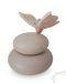 Baby urn met houten vlinder
