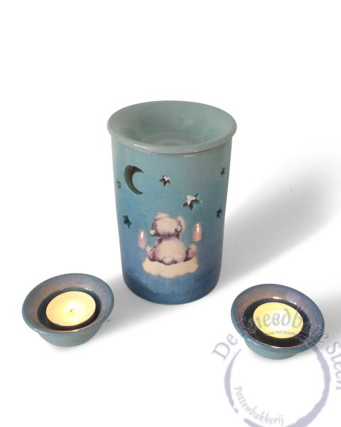 Baby urn met aromalichtje